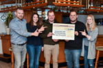 """Steigerung: 2000 Euro an """"Sportler gegen Hunger"""""""